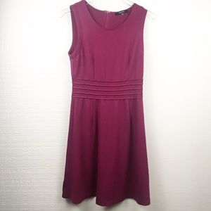 Stitchfix 41 Hawthorn Raspberry Fit & Flare Dress